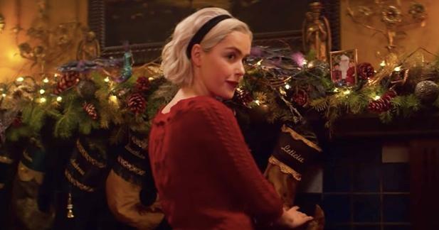 Chilling Adventures of Sabrina Auch im Hause Spellman wird Weihnachten gefeiert.