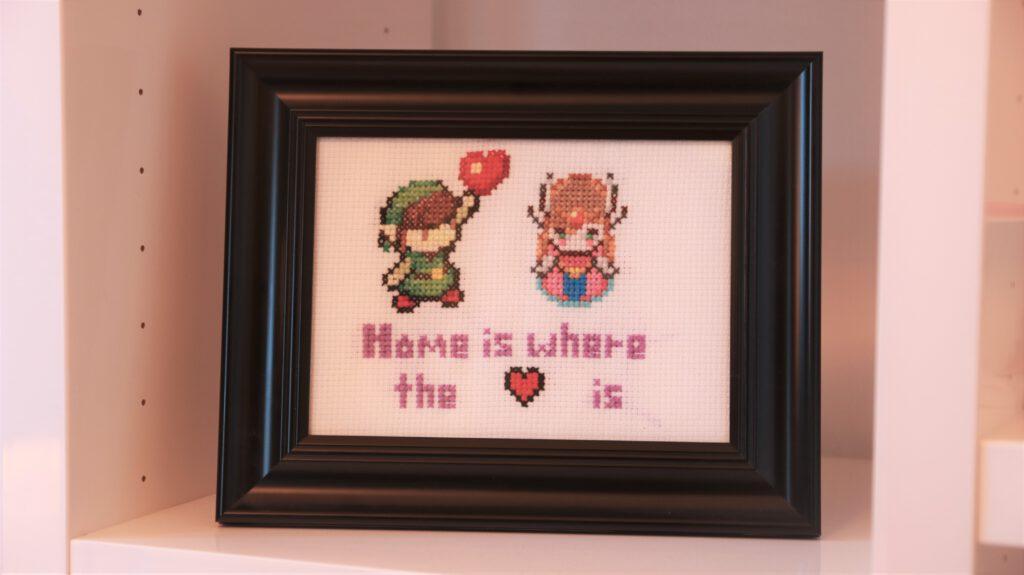Kreuzstich Link und Zelda