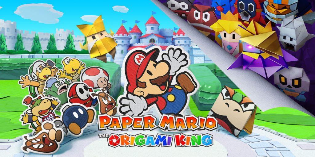 Paper Mario The Origami King Titelbild - Nintendo Switch: Das sind die Top-Games im Sommer 2020!