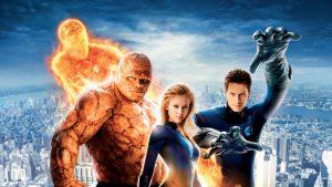 Die 10 schlechtesten Superhelden-Filme aller Zeiten: Chris Evans bei den Fantastic Four: Bevor er Captain America wurde, durfte er als die menschliche Fackel ran (Quelle: blastr.com)