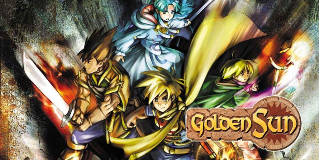 """Die vier Adepten des Spiels """"Golden Sun"""""""