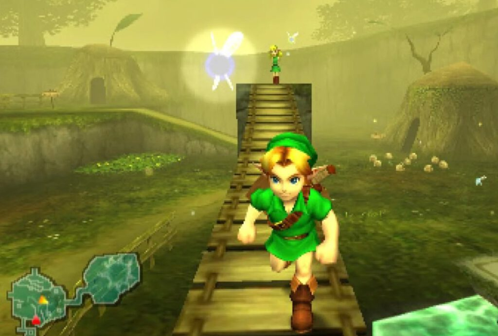 Link in Ocarina of Time