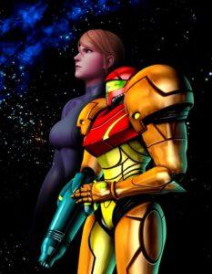 Samus Aran in ihren Power Suit