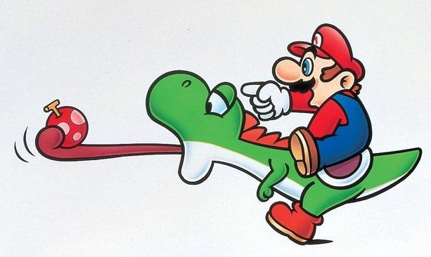 Yoshi - Marios Reittier